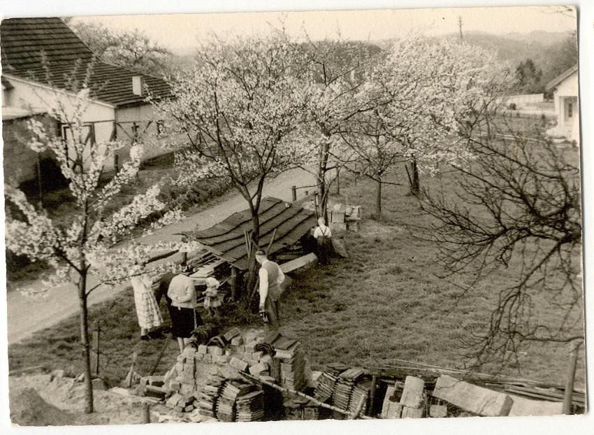 Alt Niederwennerscheid - Buschöhrchen ca. 1960